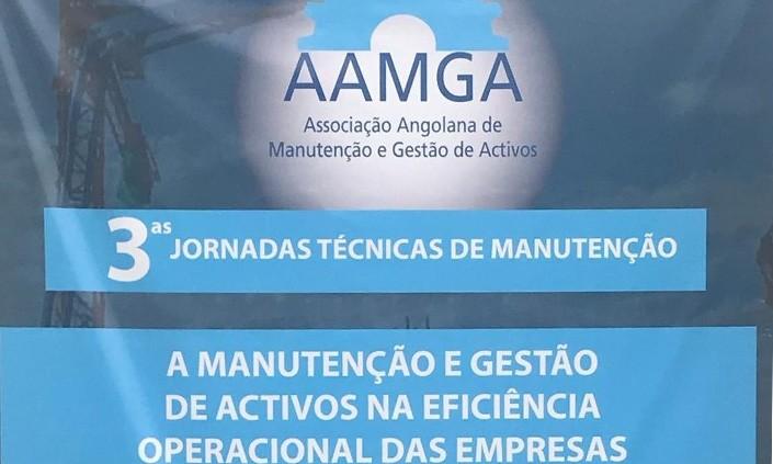 """I hoje nas 3as Jornadas Técnicas de Manutenção abordando o tema """"O Uso da Tecnologia na Manutenção"""". A TDGI na vanguarda da Manutenção em Angola."""