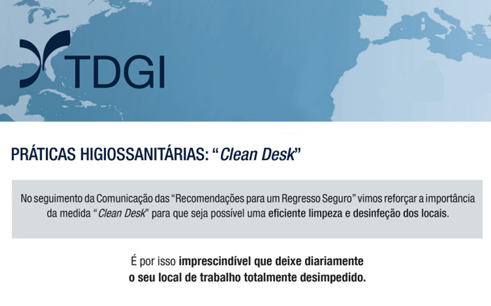 "Medida ""Clean Desk"""