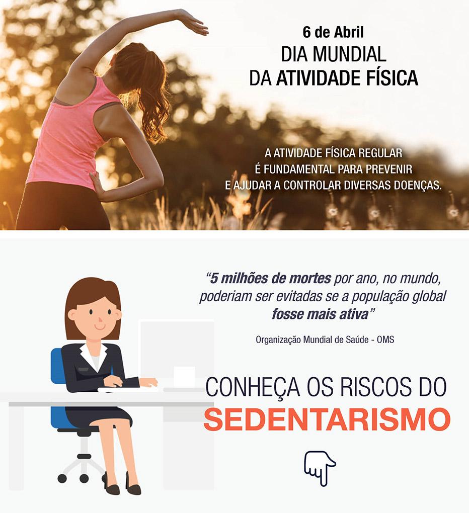 Dia Mundial da Atividade Física – 6 Abril 2021. TDGI Portugal