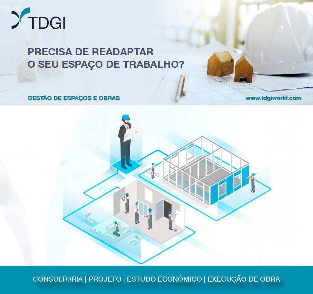 Gestão de Espaços e Obras. TDGI Portugal