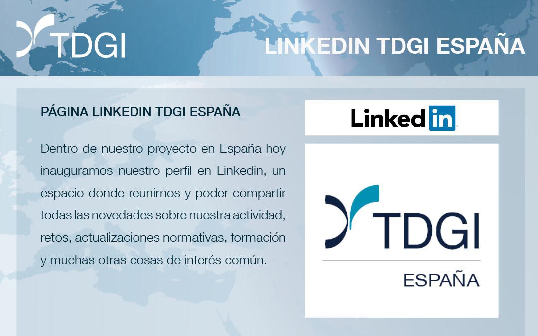 LINKDIN ESPANHA, TDGI – Tecnologia de Gestão de Imóveis, S.A