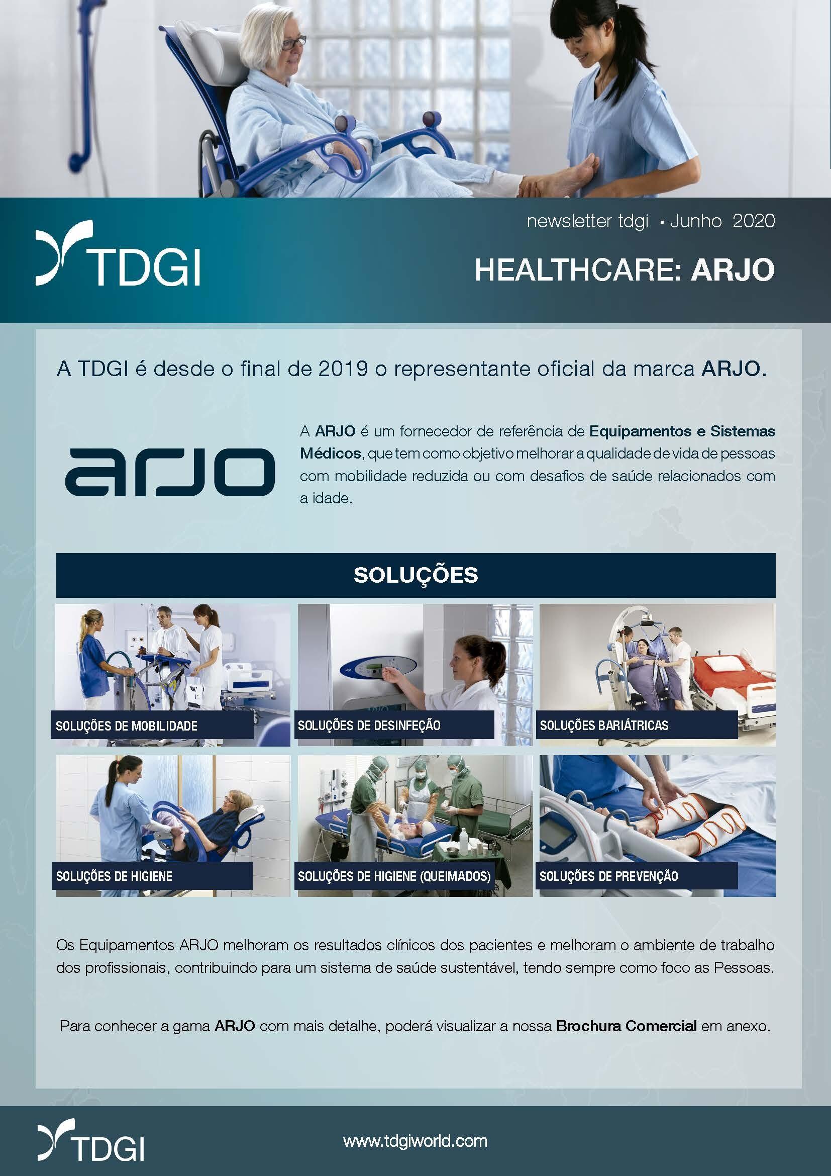 TDGI HEALTHCARE | Representante ARJO PT