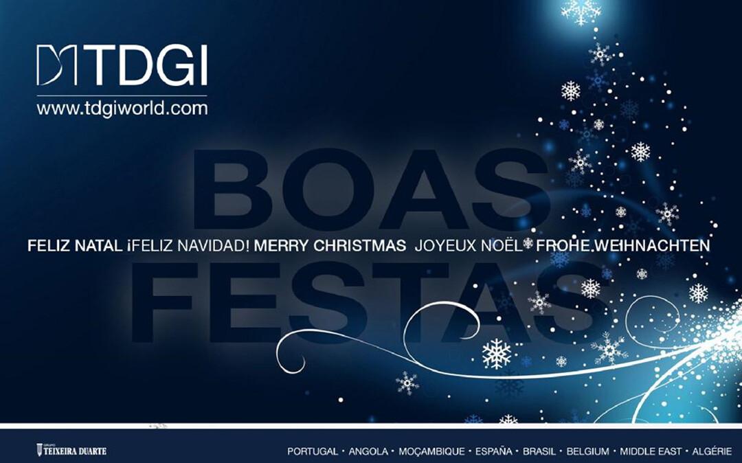 BOAS FESTAS. TDGI Portugal