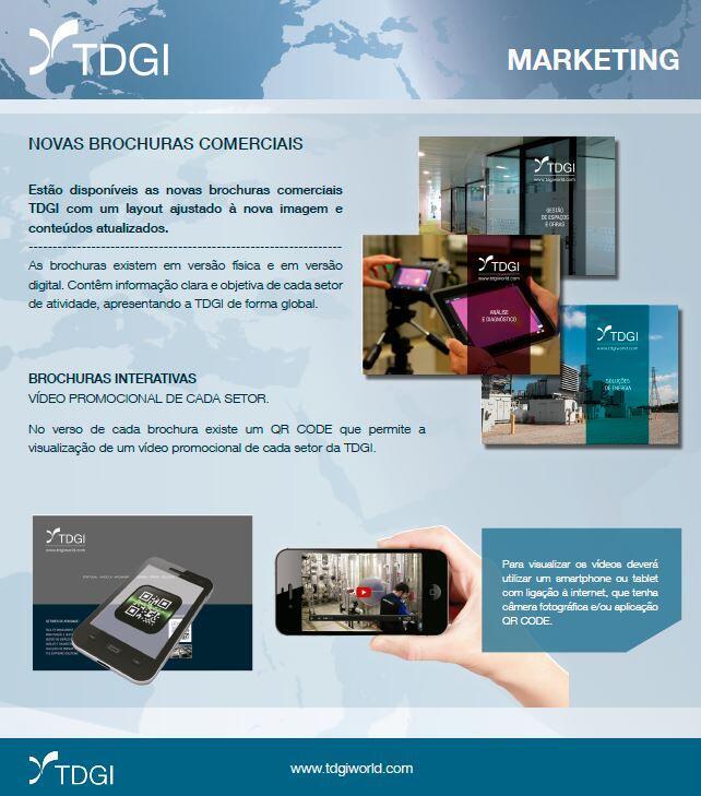 Novas Brochuras TDGI 2018