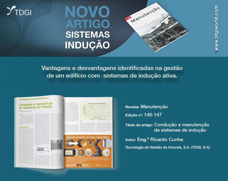Sistemas de Indução in Revista Manutenção n.º 146/147. TDGI Portugal