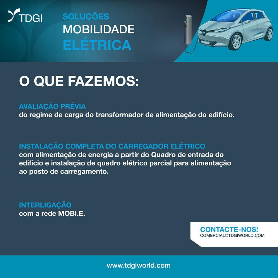 Solucoes de Mobilade Elétrica. TDGI Portugal