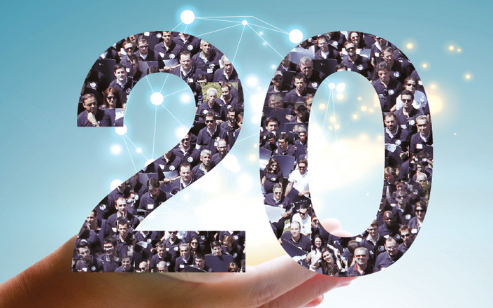 A TDGI celebra 20 Anos