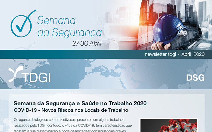 Semana – Segurança e Saúde no Trabalho 2020. TDGI Portugal