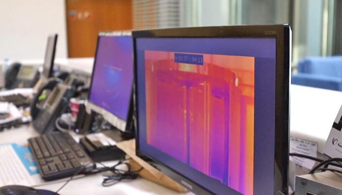 Termografia - Controlo de Acessos. TDGI Portugal