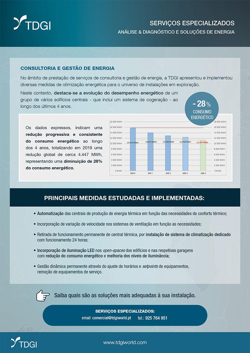 Consultoria Energética. TDGI Portugal