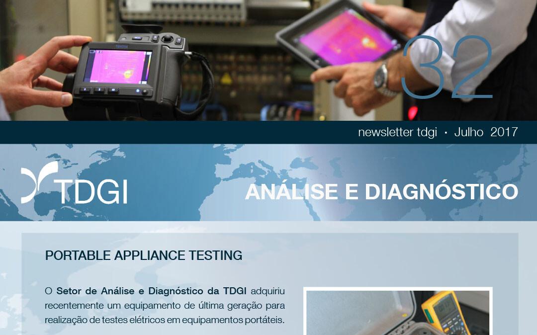 PORTABLE APPLIANCE TESTING, TDGI – Tecnologia de Gestão de Imóveis, S.A