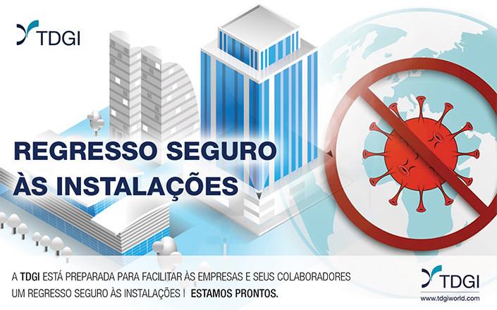REGRESSO SEGURO | ESTAMOS PRONTOS. TDGI Portugal